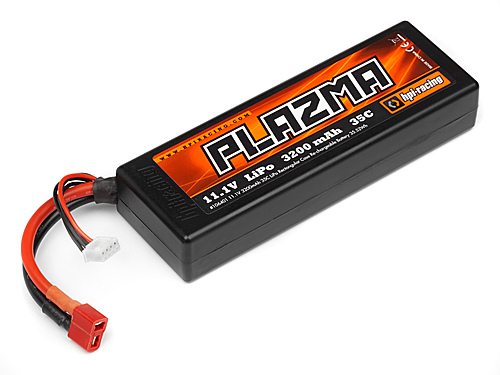 HPI Plazma 11.1v 3200mah 35c Lipo Battery Pack 35.52wh 106401