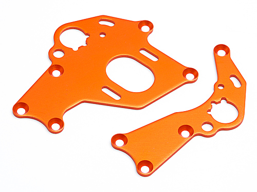 HPI Motor Mount Set (left/right/orange) 106838