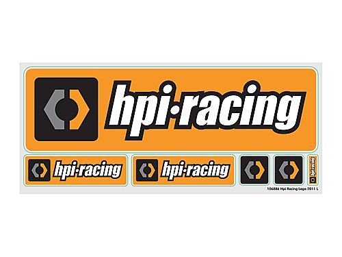 HPI Racing Logo L Decal 106886