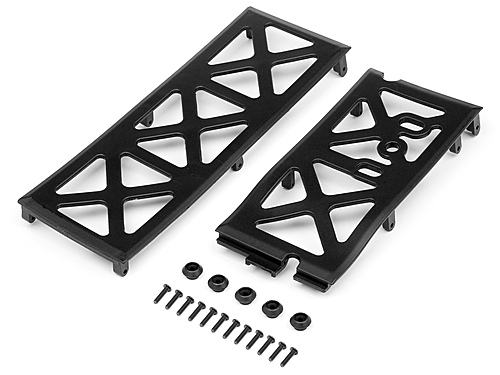 HPI Chassis Under Plate Set 106890