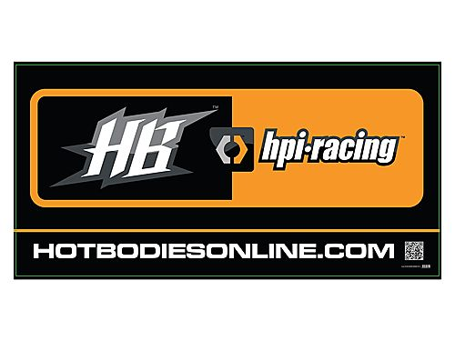 Image Of Hot Bodies HB HPI Racing Banner 2011 (small/91cm X 46cm)