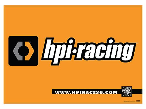 HPI Racing Banner (1.19m X 0.84m) Paper 106990