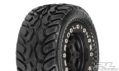 Pro-Line Dirt Hawg I Off-Road 1:16 Tires on Titus Bead-Loc Wheels PL1071-13