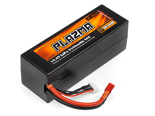 HPI Plazma 14.8v 5100mah 40c Lipo Battery Pack 75.48wh 107225