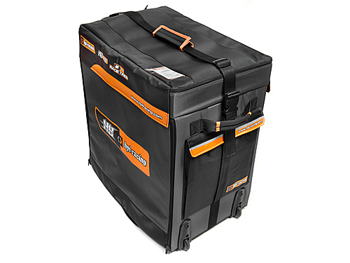 Image Of Hot Bodies HPI/hb Hauler Bag (5 Drawers/black)
