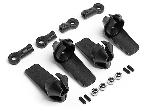 HPI Shock Guard Set 107446