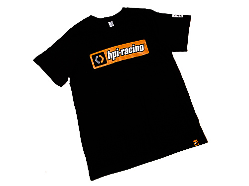 HPI Classic T-shirt (black/adult Medium) 107464
