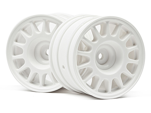 HPI Wr8 Rally Off-road Wheel 48x33mm (white/2pcs) 107881