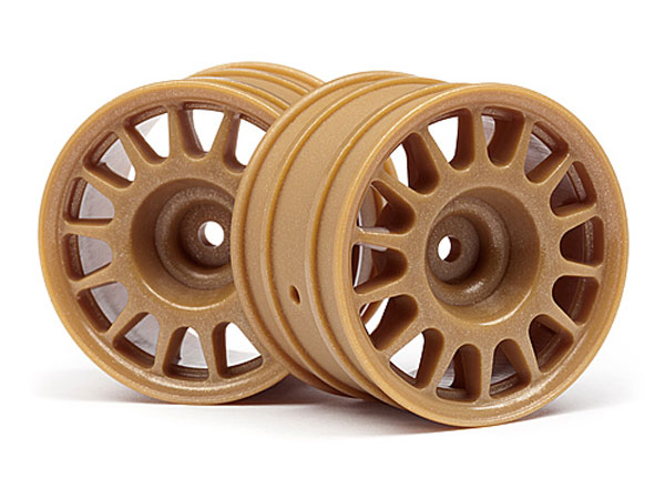 HPI Wr8 Rally Off-road Wheel Bronze (48x33mm/2pcs) 107971