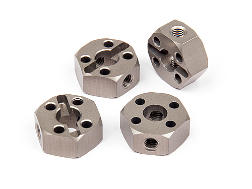 HPI Aluminum Locking Hex Wheel Hub (12mm/4pcs) 108020