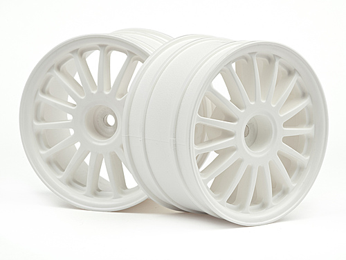 "HPI Wr8 Tarmac Wheel White (2.2""/57x35mm/2pcs) 108075"