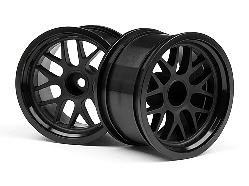 HPI Bbs Spoke Wheel 48x31mm Black (9mm Offset/2pcs) 109156