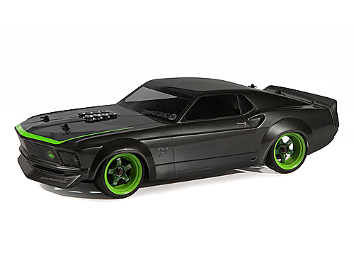 HPI 1969 Ford Mustang Rtr-x Painted Body (sprint 2/200mm) 113099