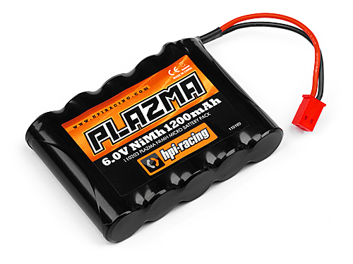 HPI Plazma 6.0v 1200mah Ni-mh Micro Battery Pack 110203