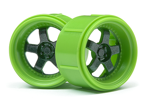 HPI Work Meister S1 Wheel Green (micro Rs4/4pcs) 112817