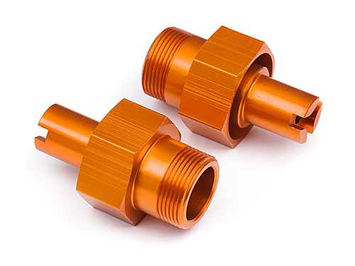 HPI 24mm Hd Front Hex Hub (orange/2pcs) 112845