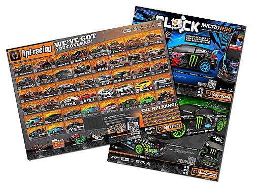 HPI A1  Global Range Double Sided Poster (1pc) 113079