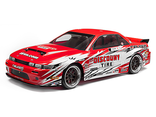 HPI Nissan S13/discount Tire Painted Body (nitro 3/200mm) 113086