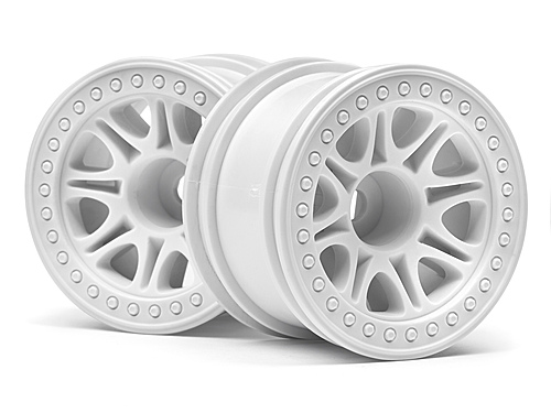 HPI Split 8 Truck Wheel (white/2pcs) 113339