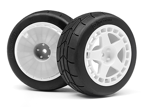 HPI Fifteen52 Turbomac Wheel/gymkhana Tire Set (2pcs) 114114