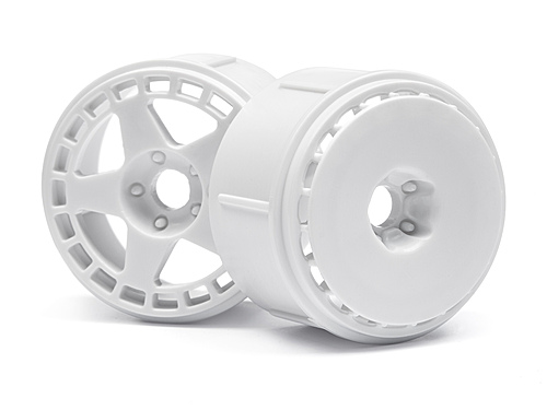 HPI Fifteen52 Turbomac Wheel White (6pcs) 114371