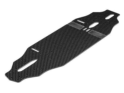 Hot Bodies Main Chassis 2.25mm (carbon Fiber/92mm) 114496