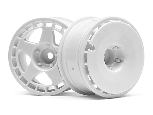 HPI Fifteen52 Turbomac Wheel White (26mm/2pcs) 114637