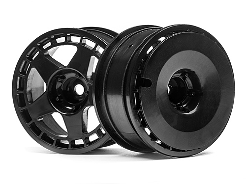 Hpi Fifteen52 Turbomac Wheel Black 26mm 2pcs 114638