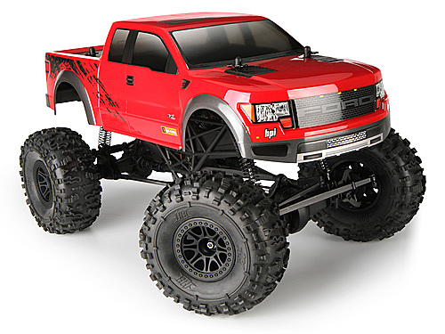 HPI Ford F-150 Svt Raptor Body (painted/red) 116038