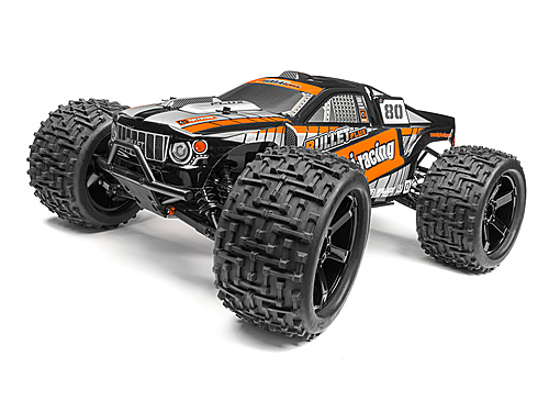 HPI Bullet St Clear Body W/ Nitro/flux Decals 115516