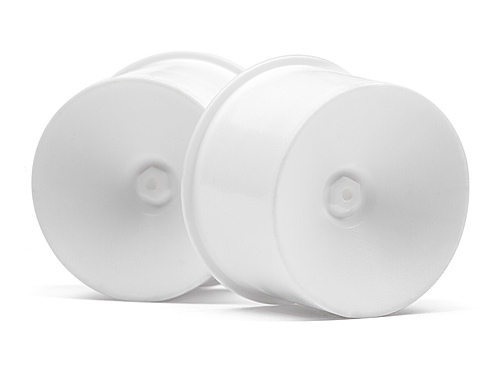 HPI Q32 Dish Wheel Set (white/22x14/4pcs) 116024