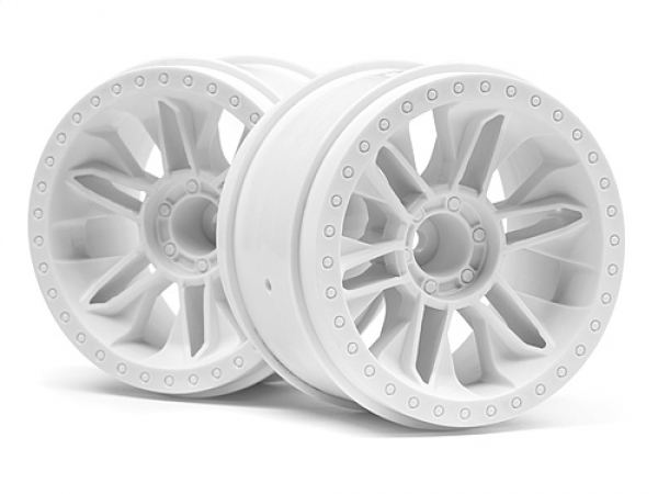 HPI 6-shot St Wheel (white/2pcs) 116738
