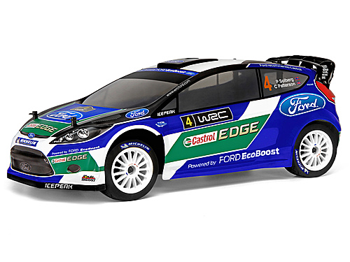 Image Of HPI 2012 Fiesta Rs Wrc Ford Wrt Painted Body