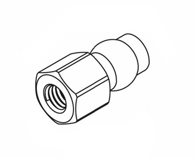 Ansmann Racing Ball Stud 5,8x11 (4) - X/XT,Mad Rat, Macnum (#125000462) C551250462