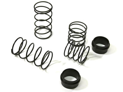 Image Of Ansmann Racing Big Bore Spring Set front (2 pcs) Truggy/SC-Truck (#125001135)