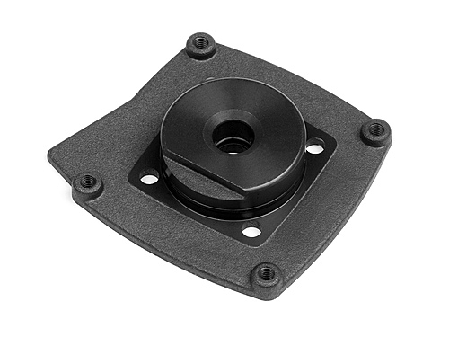 HPI Cover Plate (black/t3.0) 15153
