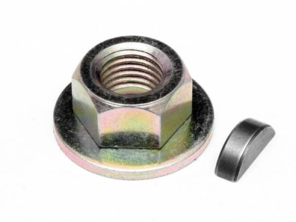 Image Of HPI Flywheel Lock Nut M7 And Key Set