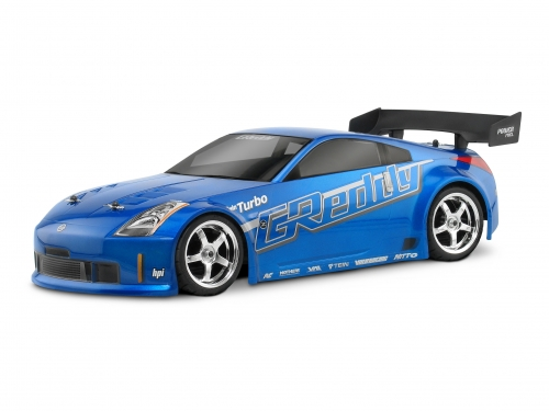 HPI Nissan 350z Greddy Twin Turbo Body (190mm) 17218