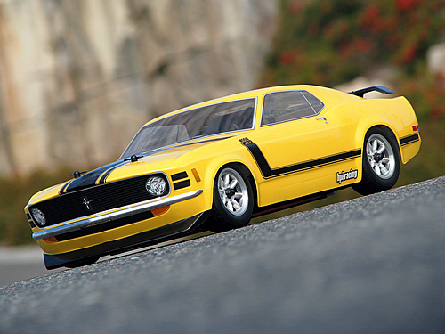 HPI 1970 Ford Mustang Boss 302 Body (200mm) 17546