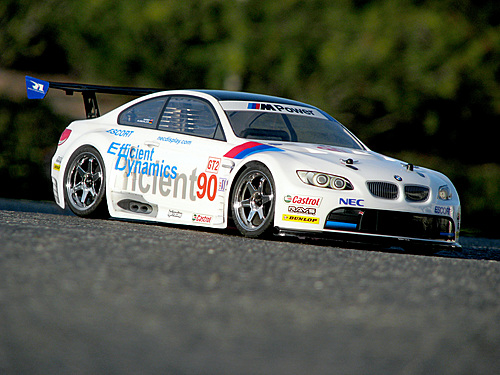 HPI Bmw M3 Gt2 Body Sprint 2 (painted/white/200mm) 106976
