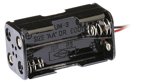 Image Of Associated RC18T 4-Cell Alkaline Battery Harness