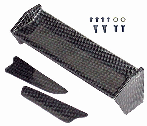 Image Of Associated RC18B Graphite Pattern Wing