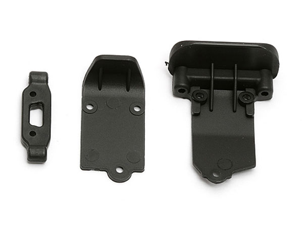 Associated RC18T2/B2 Arm Mount /Bumpers  AS21316