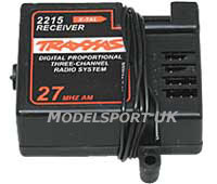 Traxxas 3-Channel 27mhz Receiver 2215
