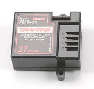 Traxxas 3 Channel Receiver Case 2215R