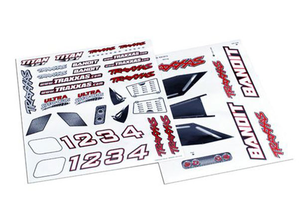 Traxxas Bandit Decal Sheet 2413X