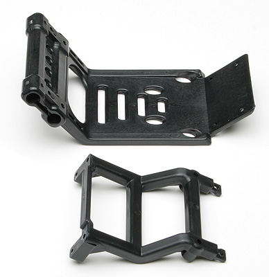 Associated Rear Bumper & Brace (MGT) AS25133