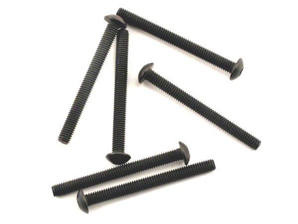 Image Of Traxxas Screws 3x30mm Button Head Machine