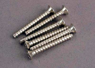 Traxxas Counter Sunk Self-Tapping Screws 3x25mm 2651