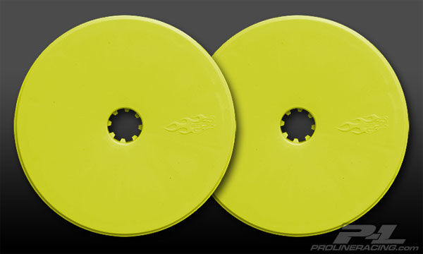 Pro-Line Front Velocity Wide Wheel Yellow RC10B4 (2) PL2666-02